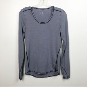ATHLETA Long Sleeve Striped Top